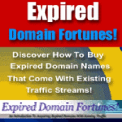 Product picture Expired Domain Fortunes - Automatic silent income