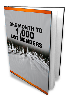 Product picture Build 1000 List Members In Less Than One Month